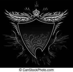 Gothic Shield Insignia