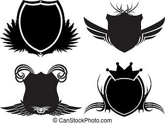 gothic shields