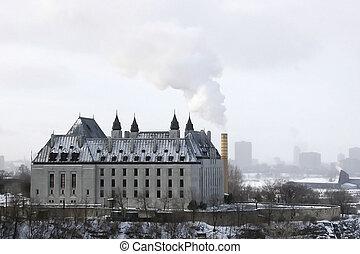 Gothic Spew View - Pollution in downtown Ottawa, Canada