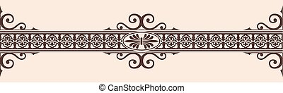 Gothic style ornament.