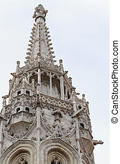 Gothic tower detail