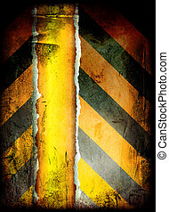 gothic warning grunge - grunge warning background with room...