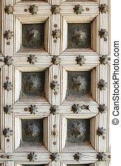 Gothic wooden texture