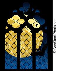 Fenster gotische elemente mittelalterlich kl ster for Fenster 800x800
