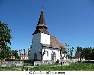 gotland, kirche