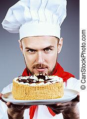 gotowanie, ciastko