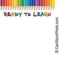 gotowy, uczyć się