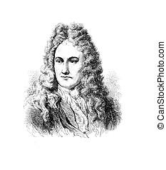 Gottfried Wilhelm von Leibniz, German philosopher and...