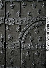 gotyk, drzwi