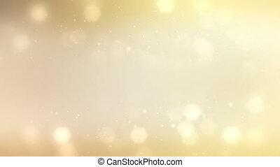 goud, 1080p, deeltje, achtergrond, lus