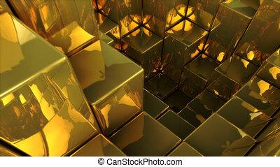 goud, -, 3d animatie