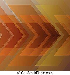 goud, abstract, geometrisch, achtergrond