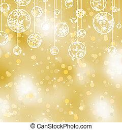 goud, elegant, eps, achtergrond., 8, kerstmis