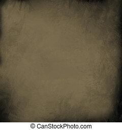goud, grung, ouderwetse , papier, achtergrond, licht, witte , of