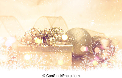 goud, kerstkado