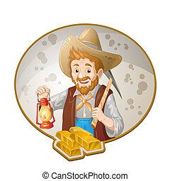 goud, mijnwerkers