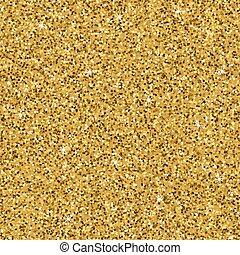 goud, seamless, gele, achtergrond., shimmer, schitteren, ...