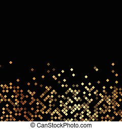 goud, sparklers, vector, black , luxe, achtergrond