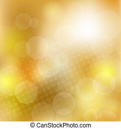 gouden, abstract, achtergrond
