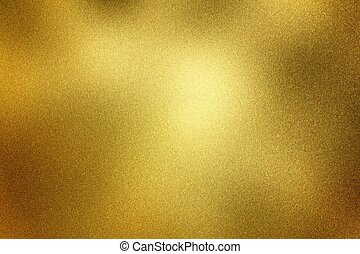 gouden, abstract, textuur, metaal, glanzend, achtergrond, geborstelde
