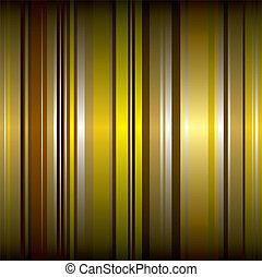 gouden, behang, streep