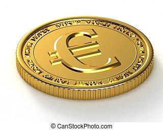 gouden, eurobiljet