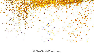 gouden, frame, schitteren, achtergrond