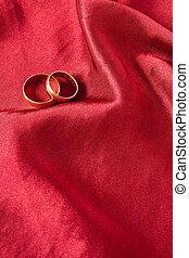 gouden, huwelijk belt op