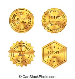 gouden, kentekens