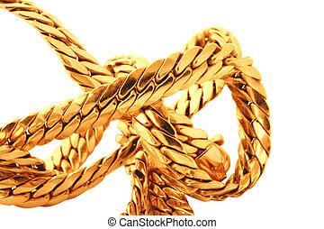 gouden ketting, details
