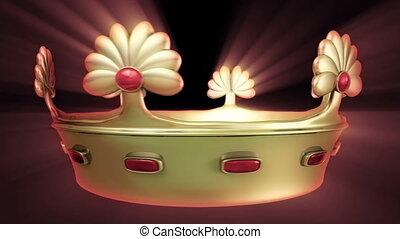 gouden kroon, 3d