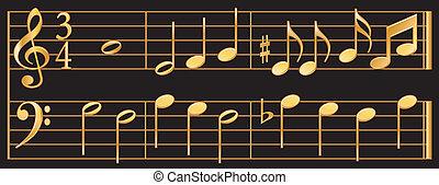 gouden, muziek