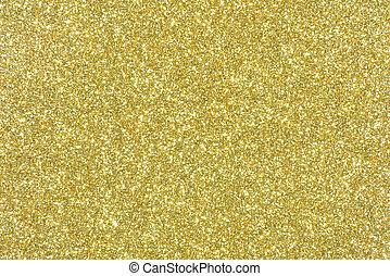 gouden, schitteren, textuur, abstract, achtergrond