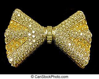 gouden, vastknopen