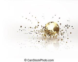 gouden, wereld