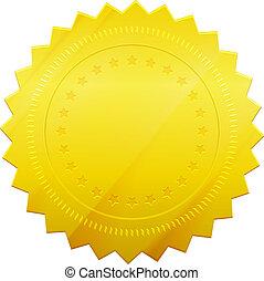 gouden zegel