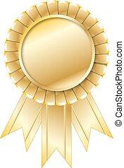 gouden zegel, illustratie