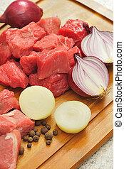 Goulash Ingredients