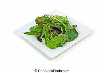Gourmet baby greens