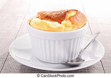 gourmet cheese souffle
