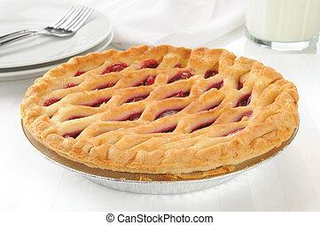 Gourmet cherry pie