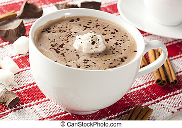 gourmet, chocolat chaud