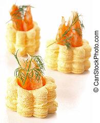 gourmet crab appetizer