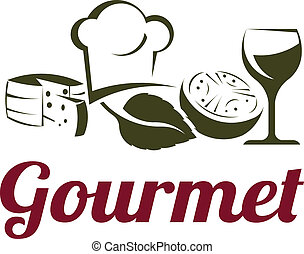 Gourmet classic fine cuisine ingredients