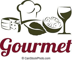 Gourmet Cuisine - Gourmet classic fine cuisine ingredients