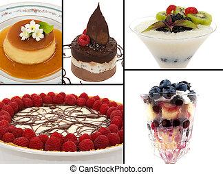 gourmet, desserts