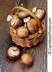 Portabello Mushroom - Gourmet Raw Portabello Mushrooms in...