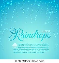 gouttes pluie