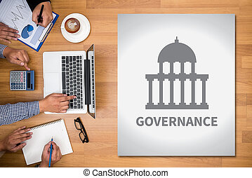 GOVERNANCE and Government building, Authority Government ...