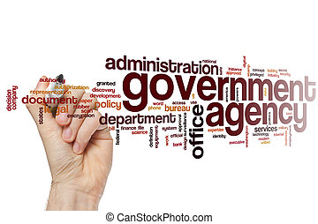 Government agency word cloud